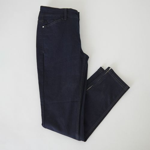 Jeans 7/8 bleu foncé