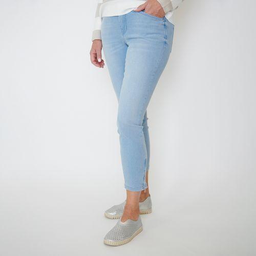 Jeans 7/8 bleu pâle
