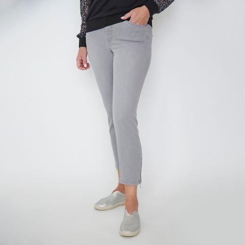 Jeans 7/8 gris pâle