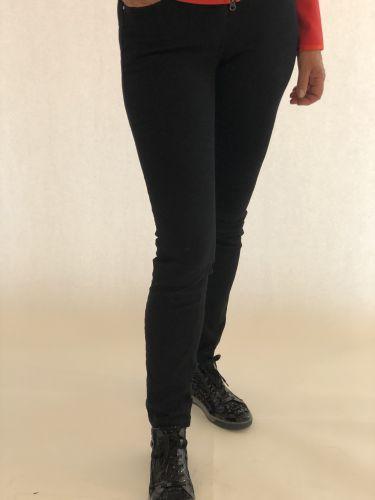 Jeans Étroit Noir